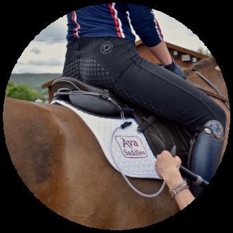 Ava Saddles fitting process